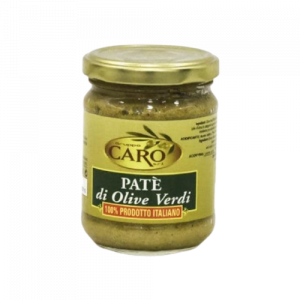 Caro Paté of Sicilian Green Olives 190g