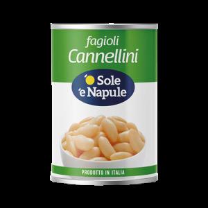 O' Sole 'e Napule Cannellini Beans 400g