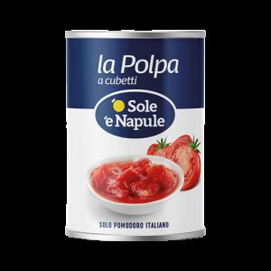 O' Sole 'e Napule Chopped Tomatoes 400g