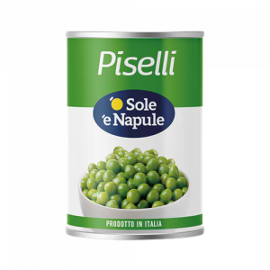 O' Sole 'e Napule Green Peas 400g