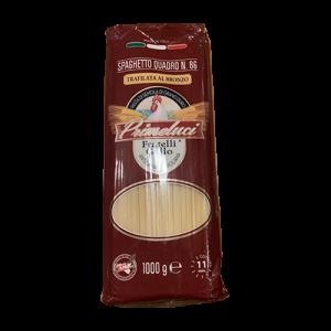Pasta Primeluci Spaghetto Quadro N86 1kg