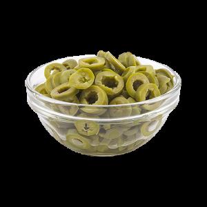 Sliced Green Olives 250g