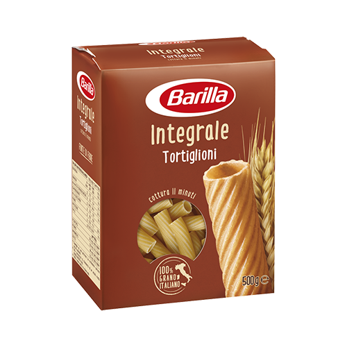Barilla Whole Wheat Tortiglioni 500g