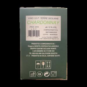 Cantina Kaggera Chardonnay 5L Wine Faucet