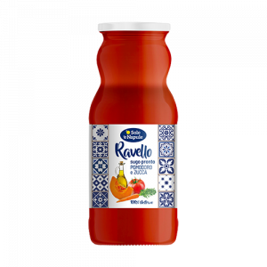 O' Sole 'e Napule Ravello Tomato and Pumpkin Pasta Sauce 350g